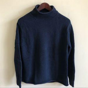 Rolled Collar J Crew Fisherman Sweater